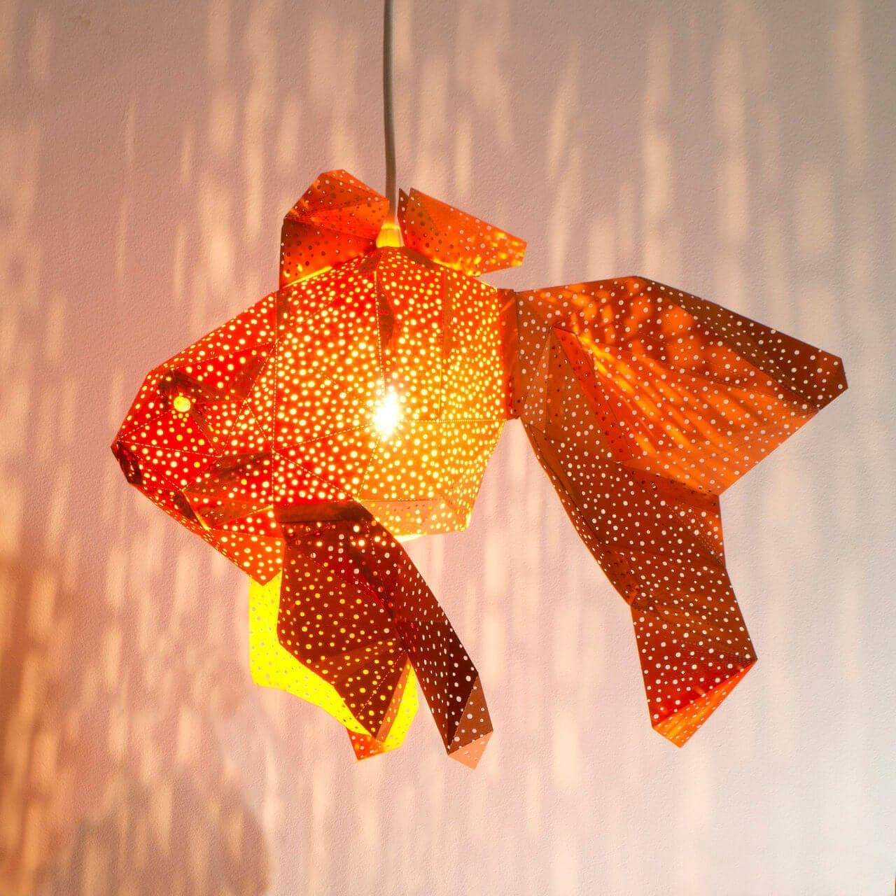 diy papercraft light shades vasili 1
