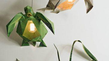 diy papercraft light shades vasili 2