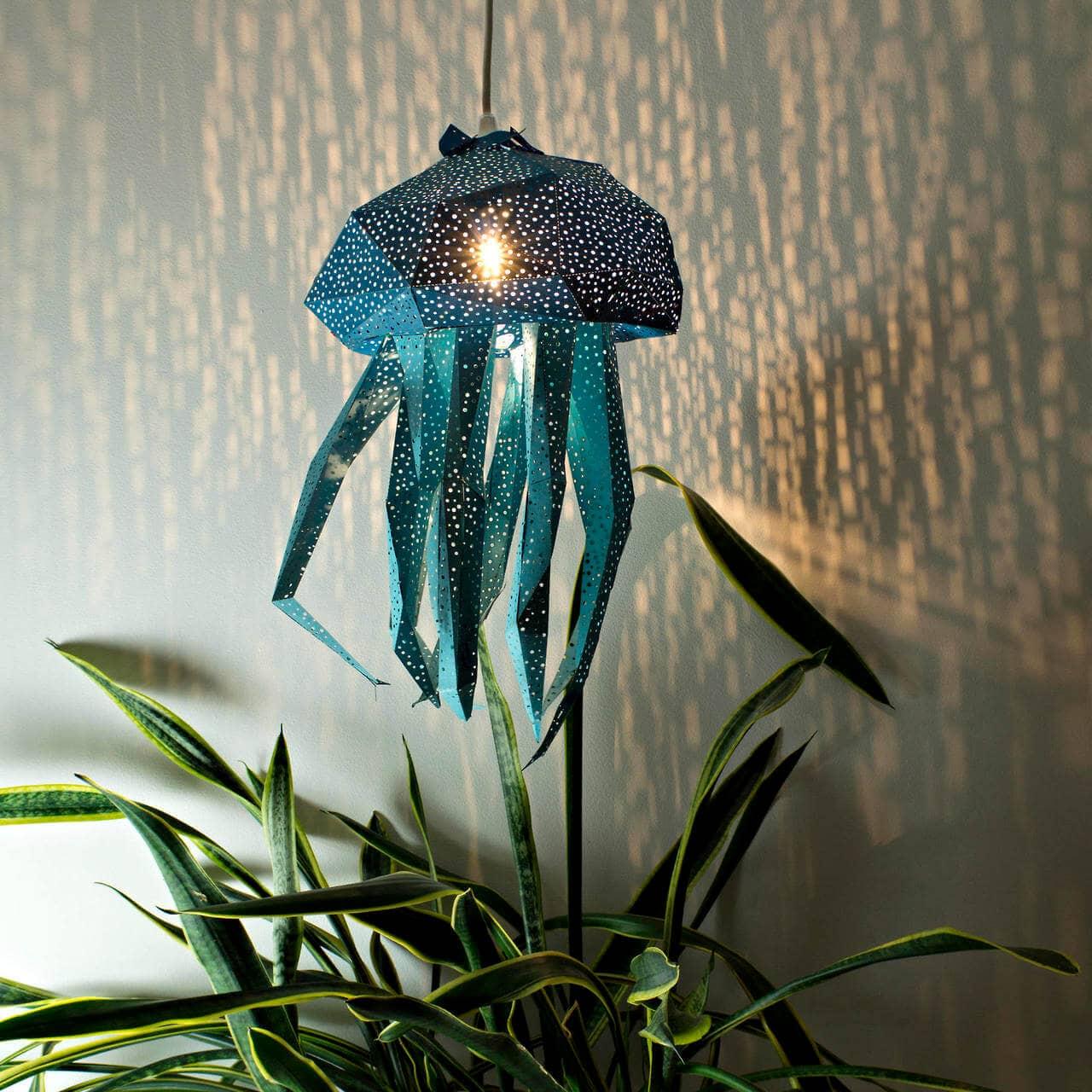 diy papercraft light shades vasili 5