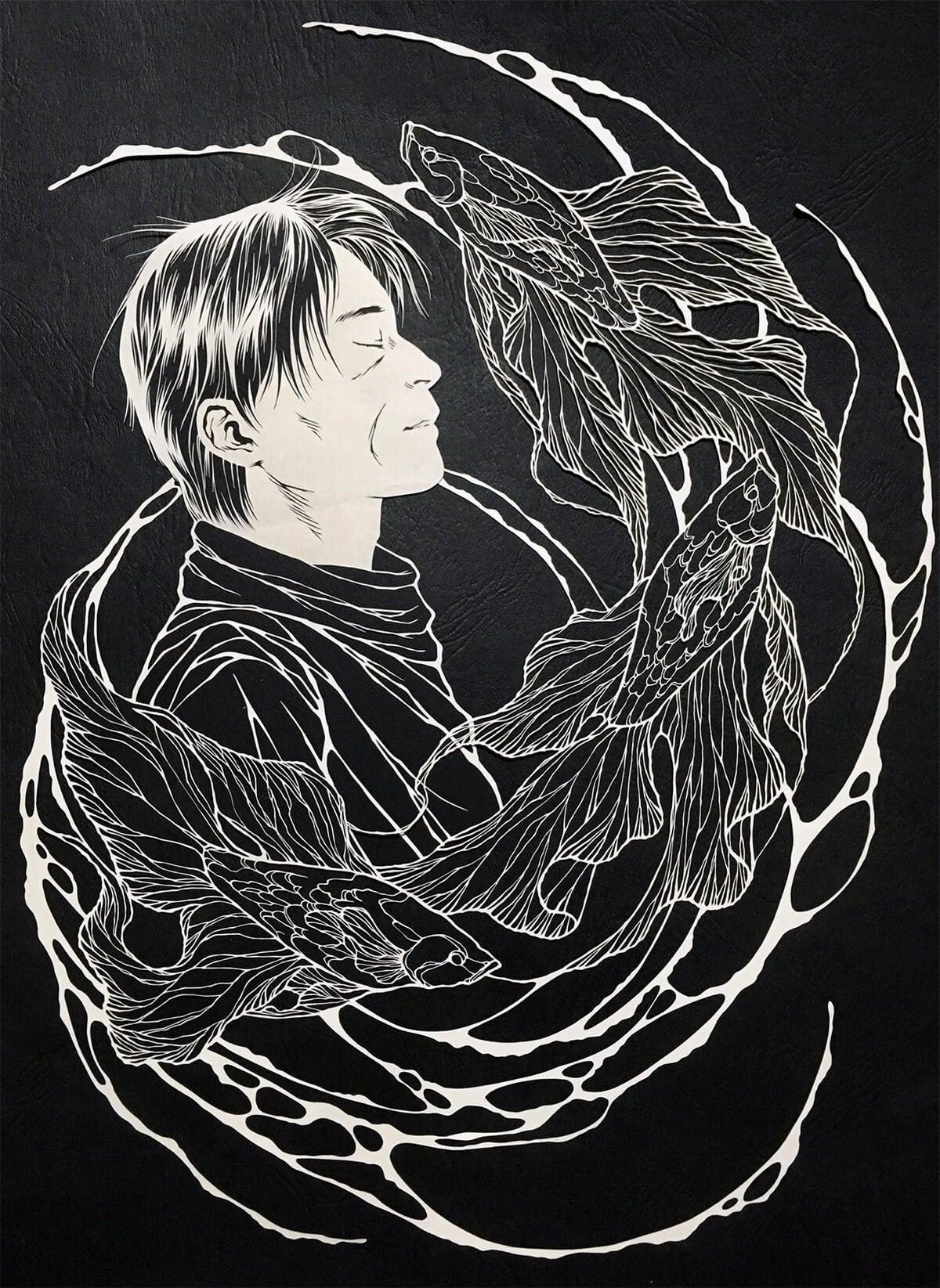 fragile cut paper artworks kiri ken freeyork 1