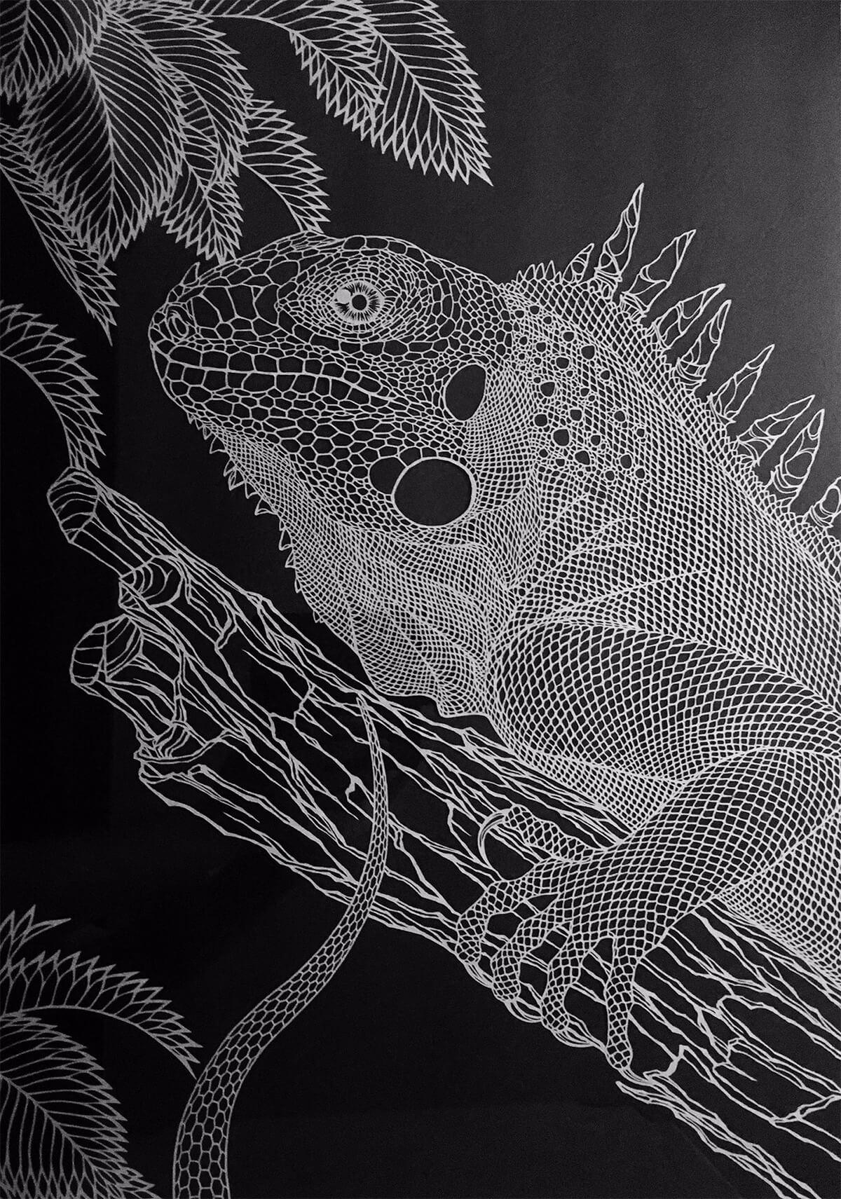 fragile cut paper artworks kiri ken freeyork 2