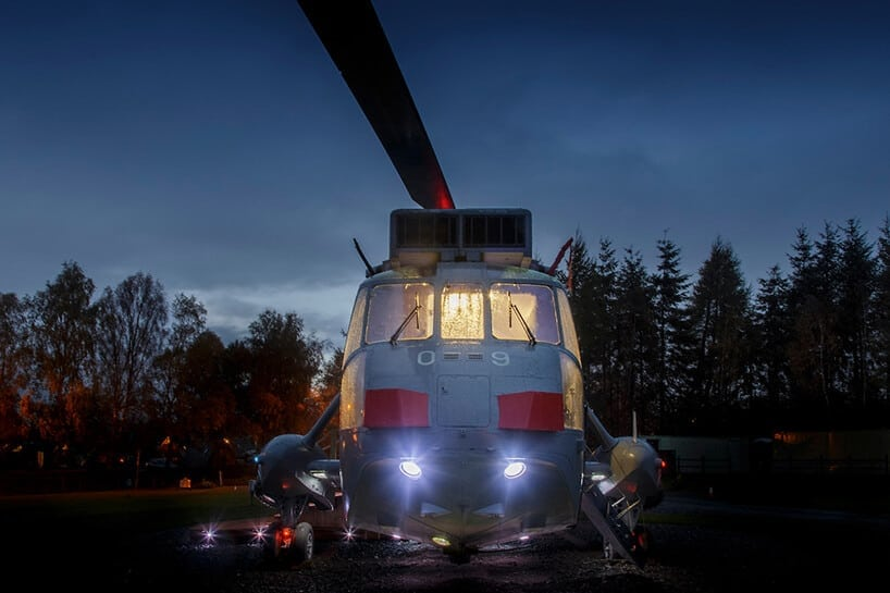 helicopter hotel glamping stirling scotland fy 2