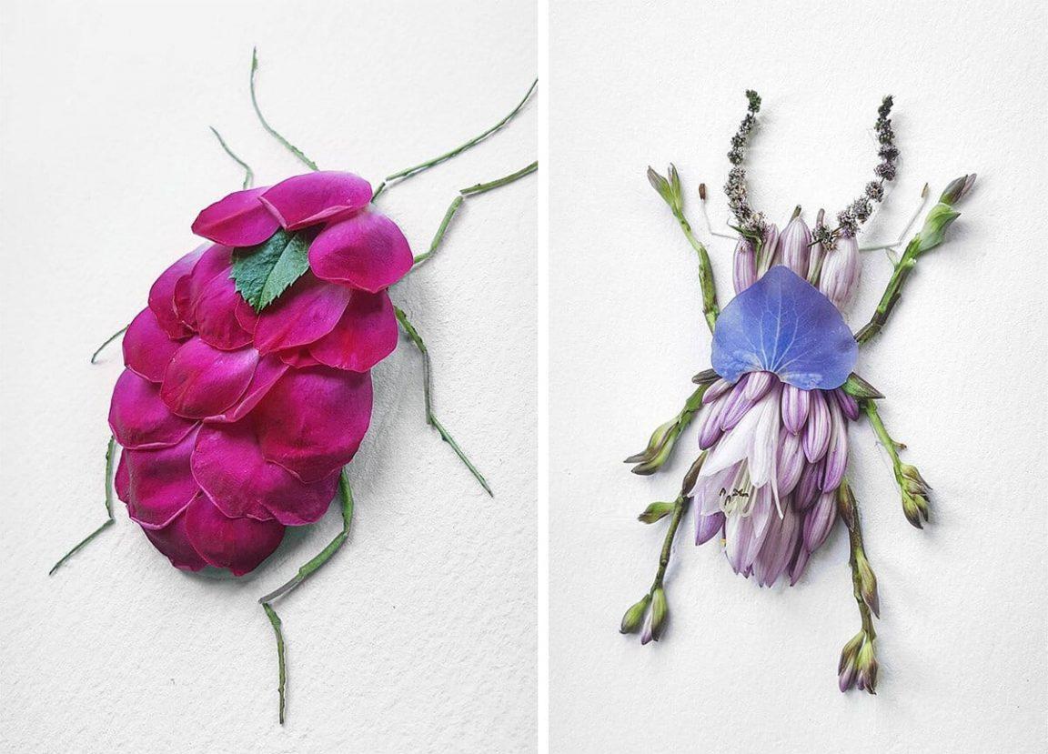 insect flower arrangements raku inoue freeyork 10