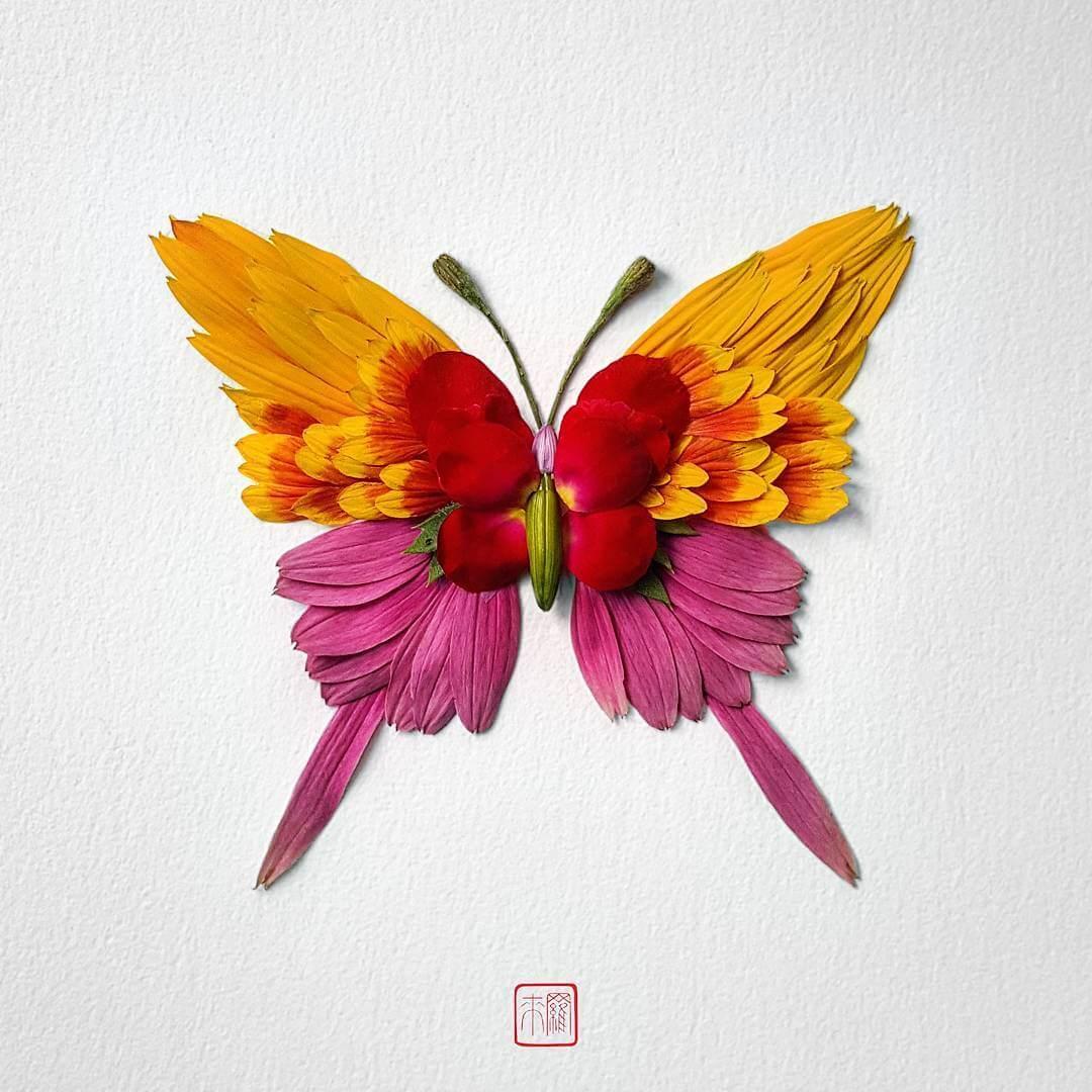 insect flower arrangements raku inoue freeyork 5
