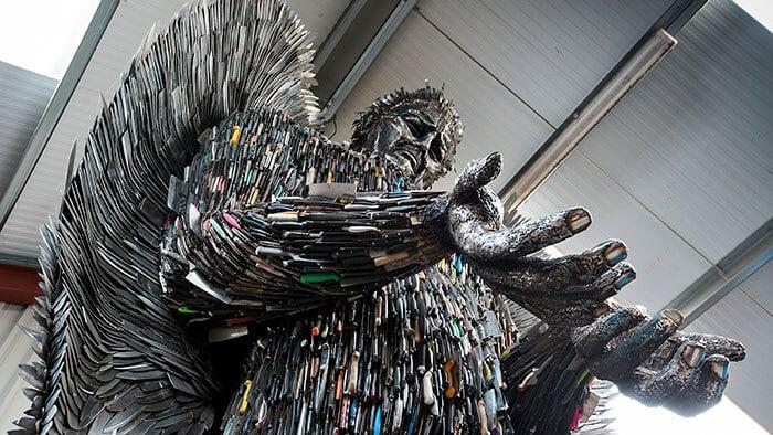 knife angel sculpture alfie radley fy 4