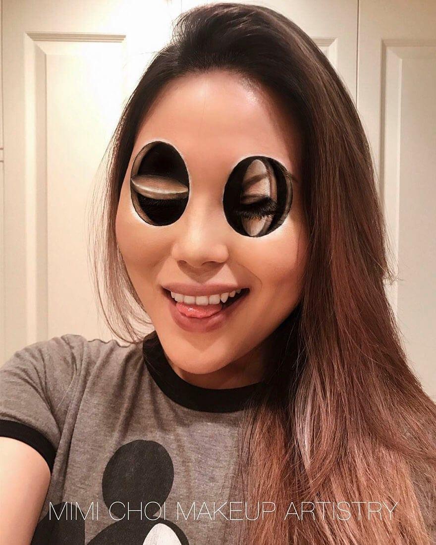 optical illusion make up mimi choi freeyork 2