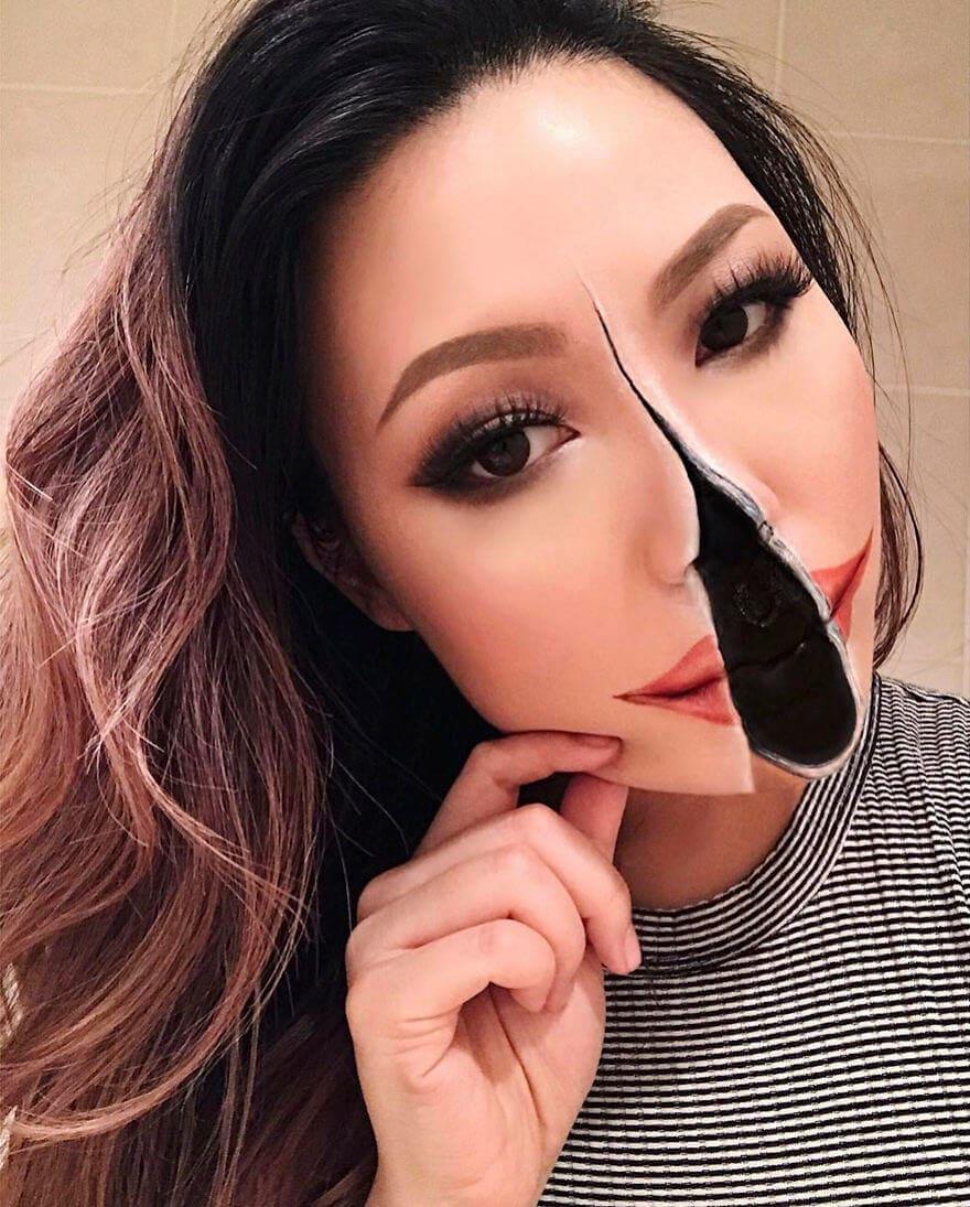 optical illusion make up mimi choi freeyork 4