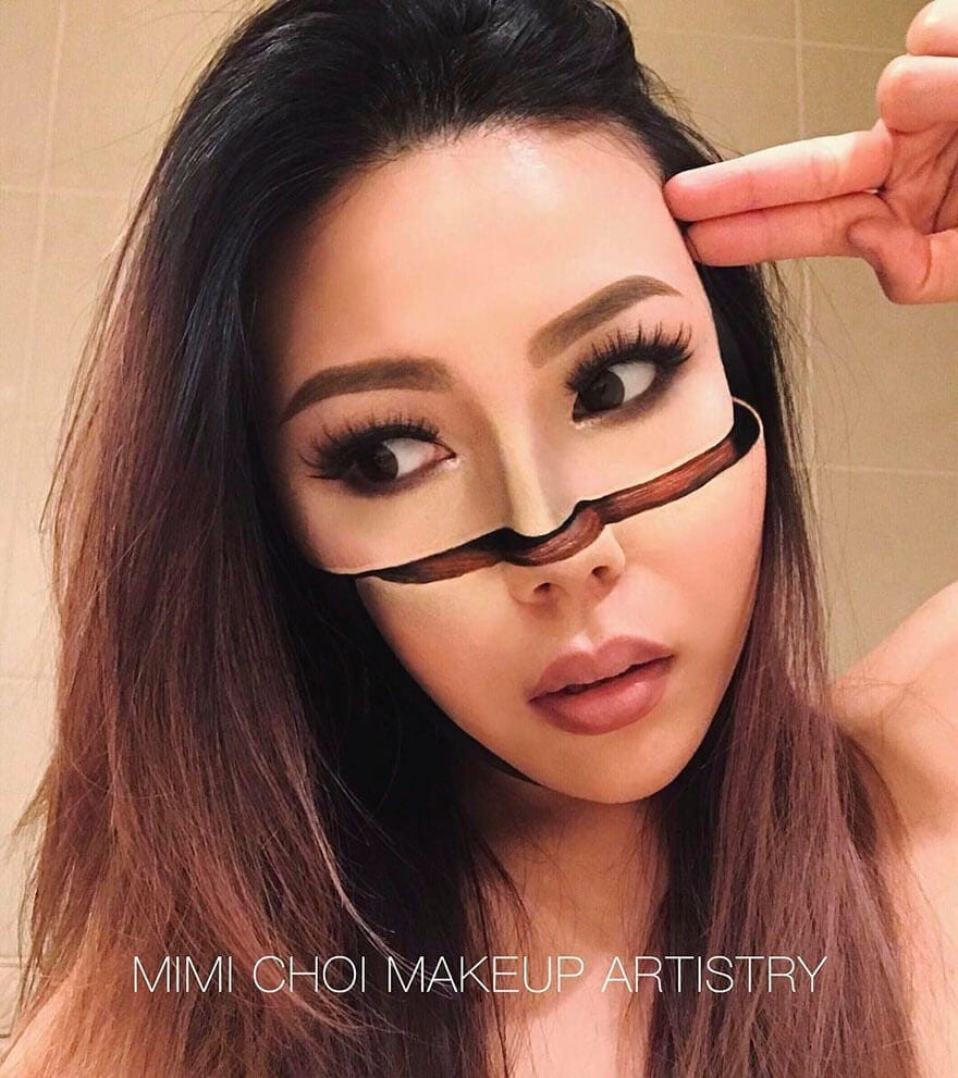 optical illusion make up mimi choi freeyork 8