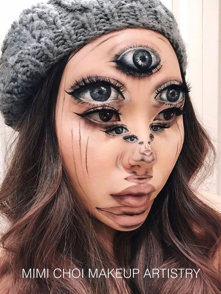optical illusion make up mimi choi freeyork 9