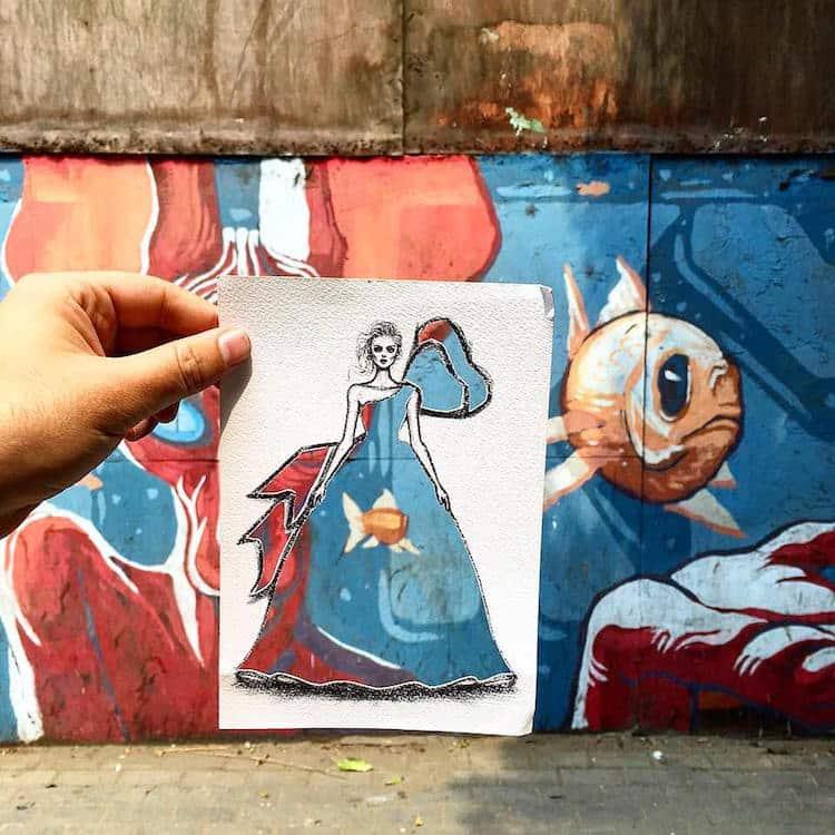 paper cut out art fashion design shamekh al bluwi fy 2