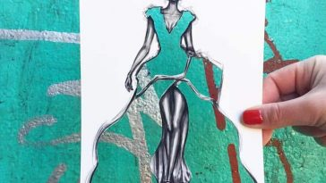 paper cut out art fashion design shamekh al bluwi fy 5