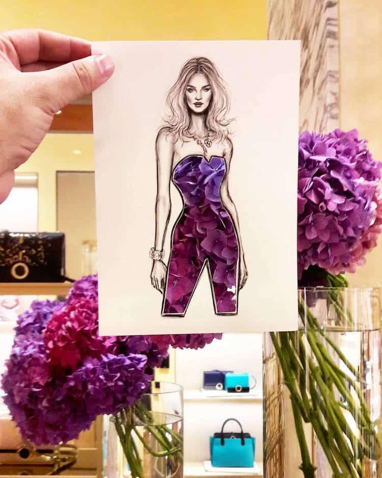 paper cut out art fashion design shamekh al bluwi fy 8