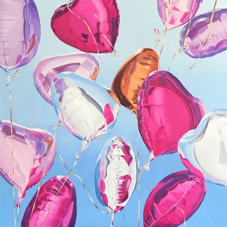 realistic paintings balloons freeyork 3