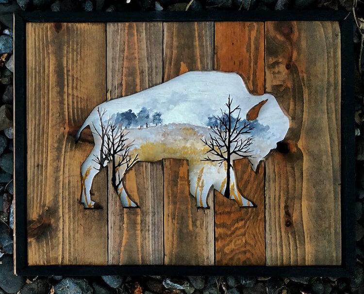 reclaimed wood art woodensense freeyork 12