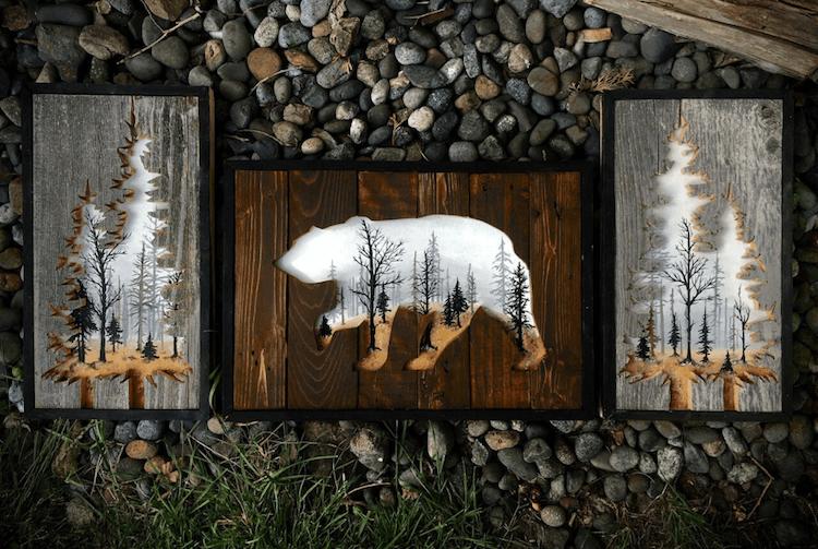 reclaimed wood art woodensense freeyork 4