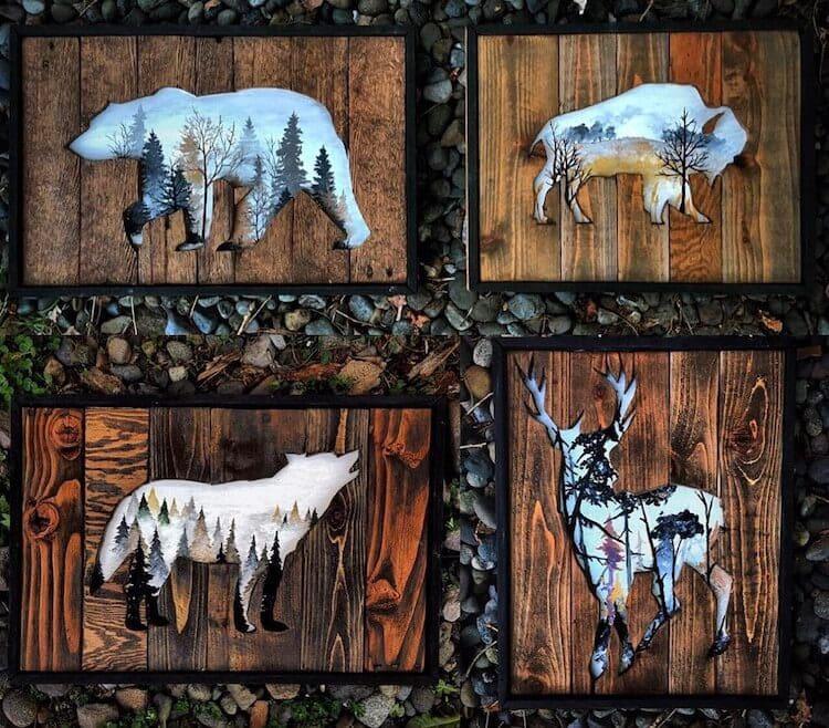 reclaimed wood art woodensense freeyork 5