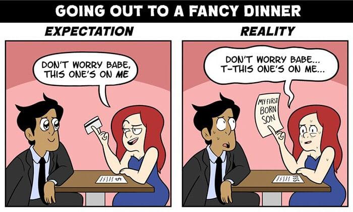 romantic expectation vs reality jacob andrews fy 3