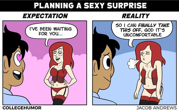 romantic expectation vs reality jacob andrews fy 5
