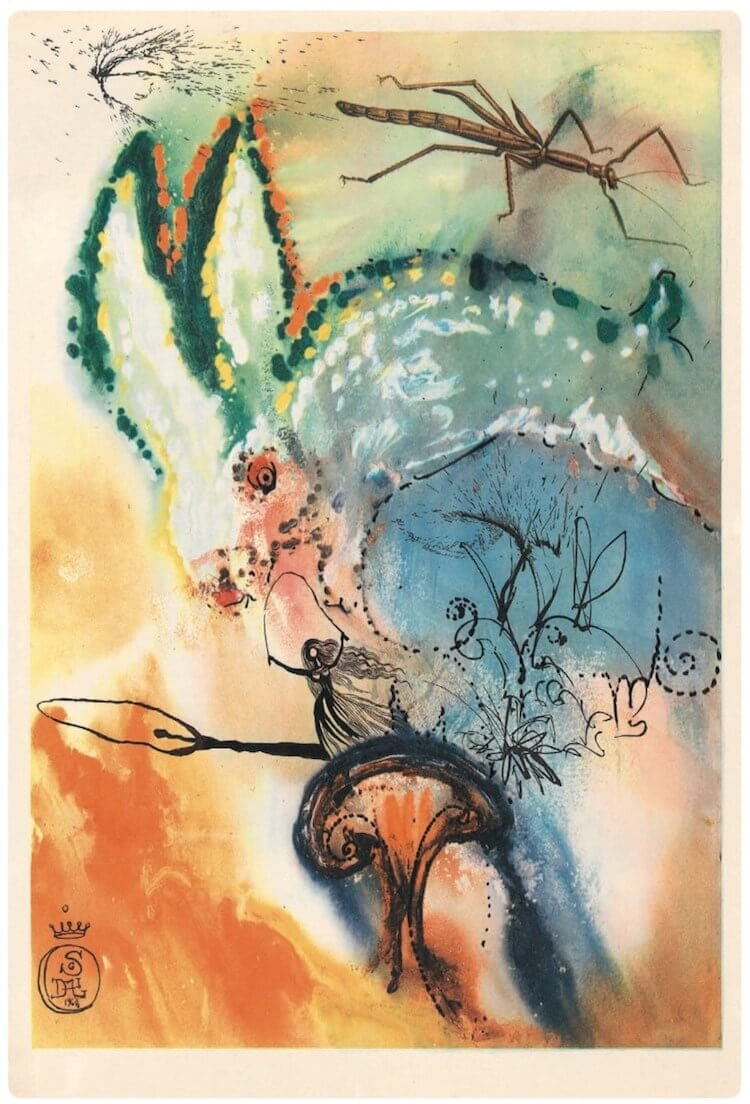 salvador dali alice in wonderland freeyork 10