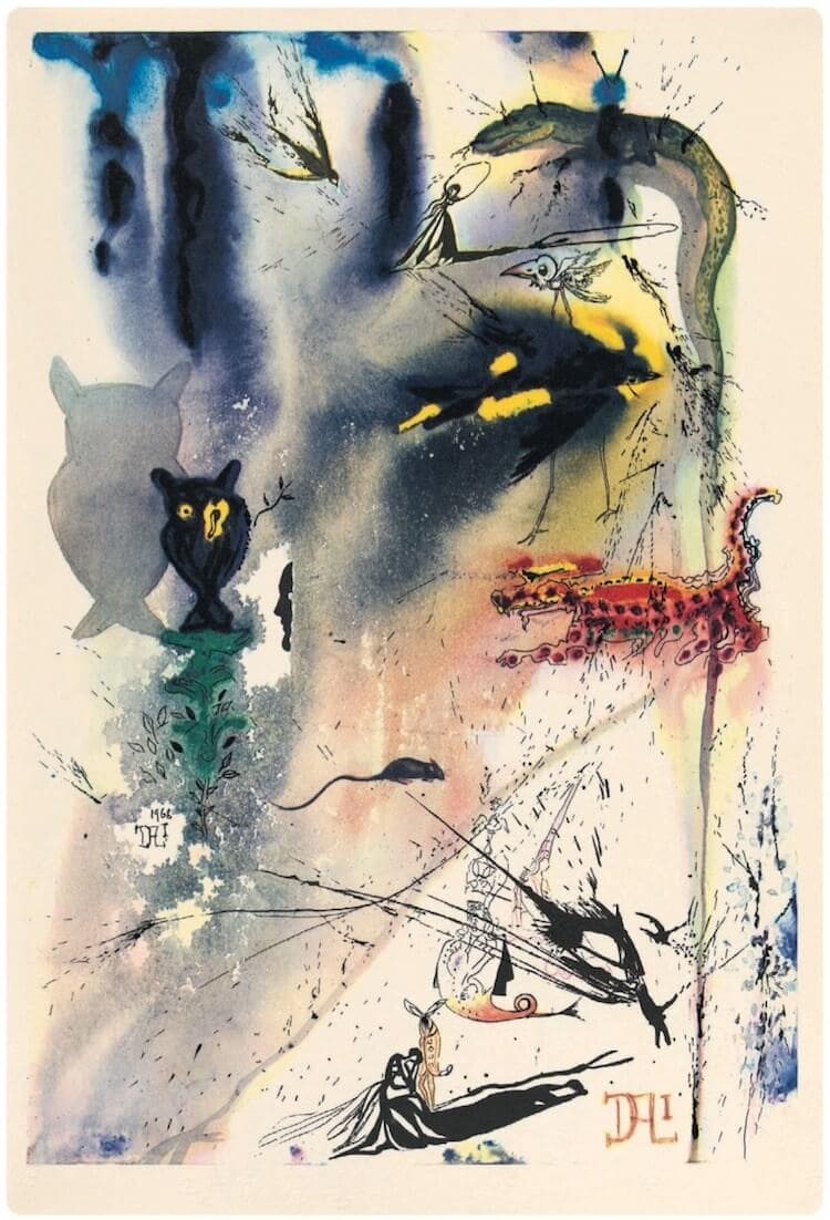 salvador dali alice in wonderland freeyork 12