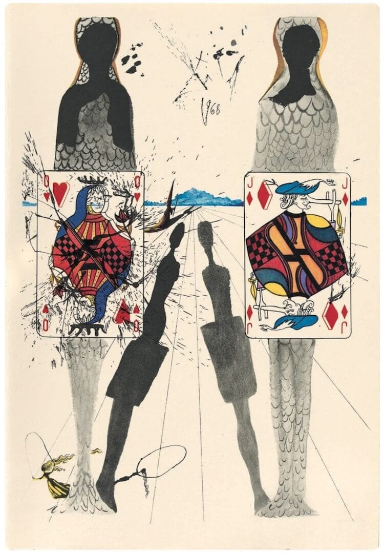 salvador dali alice in wonderland freeyork 5