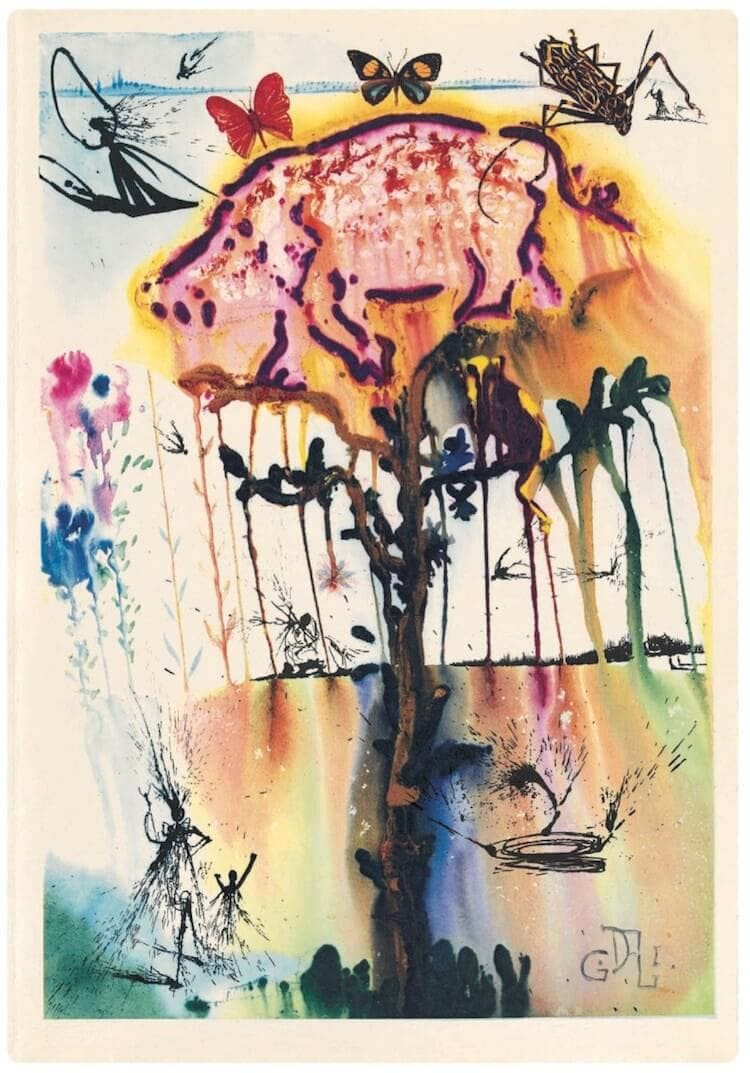 salvador dali alice in wonderland freeyork 7