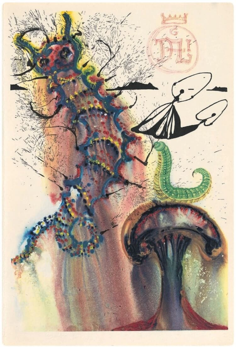 salvador dali alice in wonderland freeyork 8