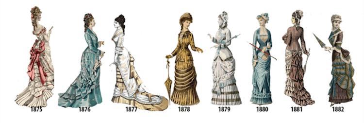 womens fashion history fy 13