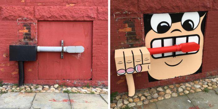 tom bob clever street art freeyork 1