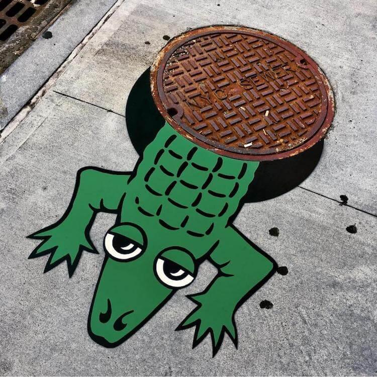 tom bob clever street art freeyork 7