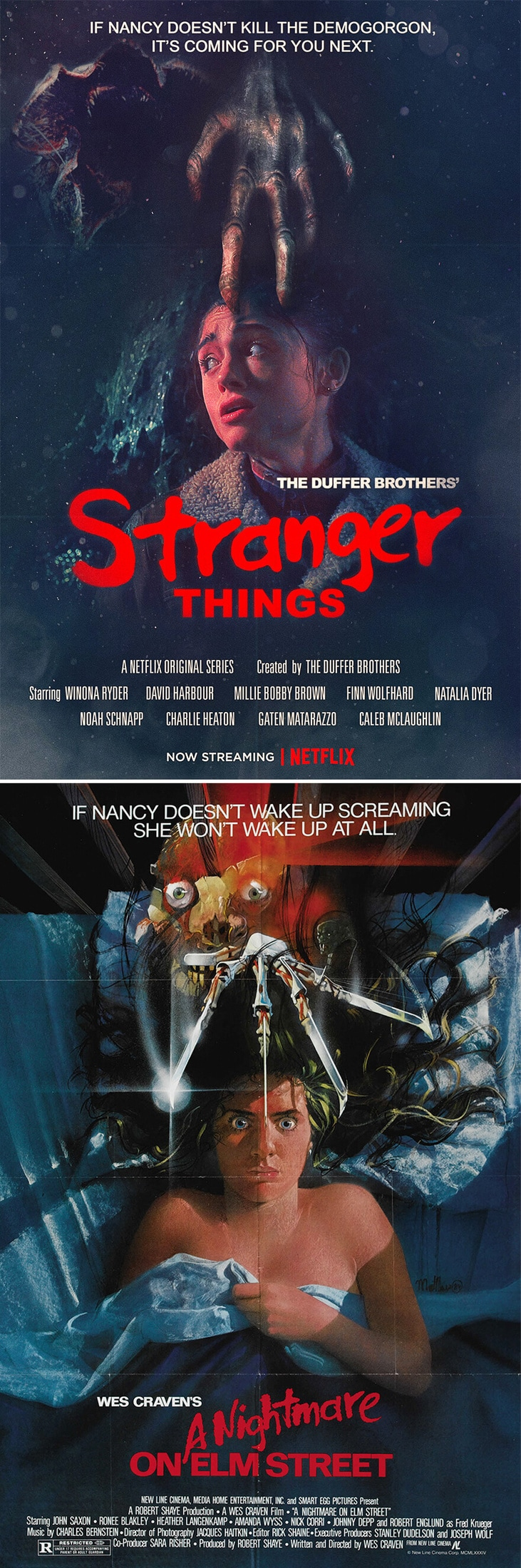 80s movie posters netflix stranger things freeyork 1