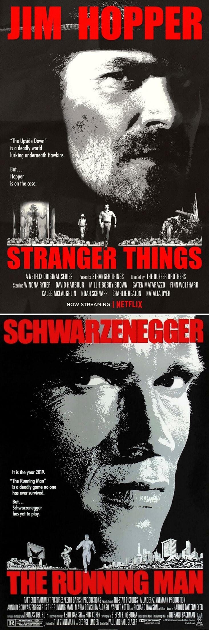 80s movie posters netflix stranger things freeyork 5