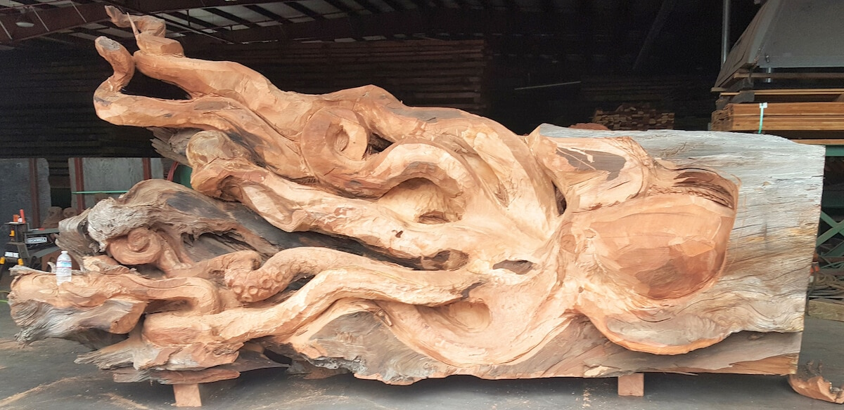 carved redwood octopus freeyork 3