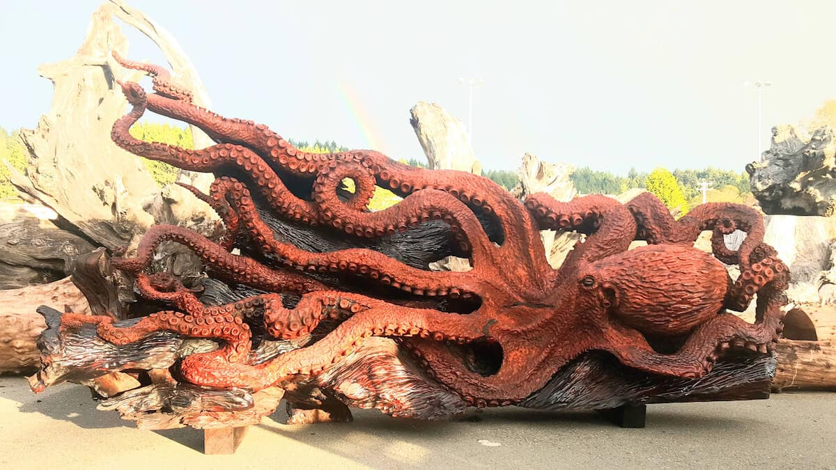 carved redwood octopus freeyork 4