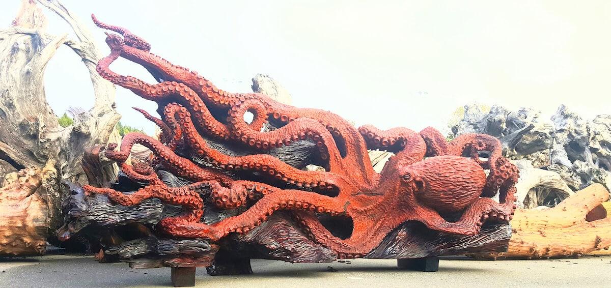 carved redwood octopus freeyork 9