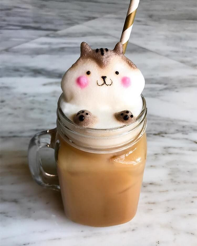 daphne tan 3d latte art freeyork 2