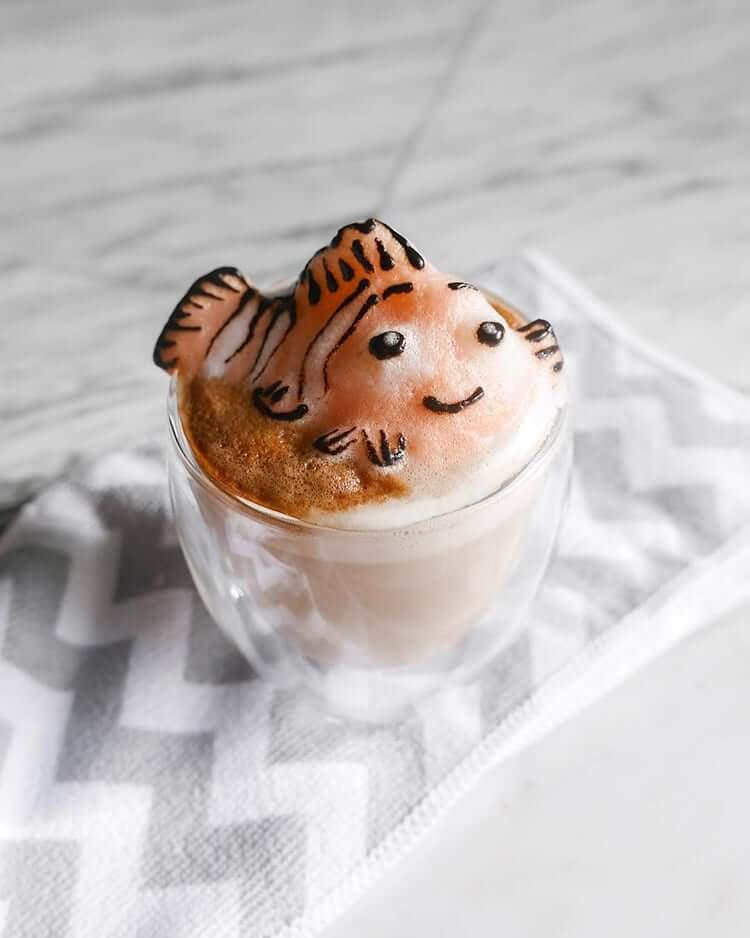 daphne tan 3d latte art freeyork 3