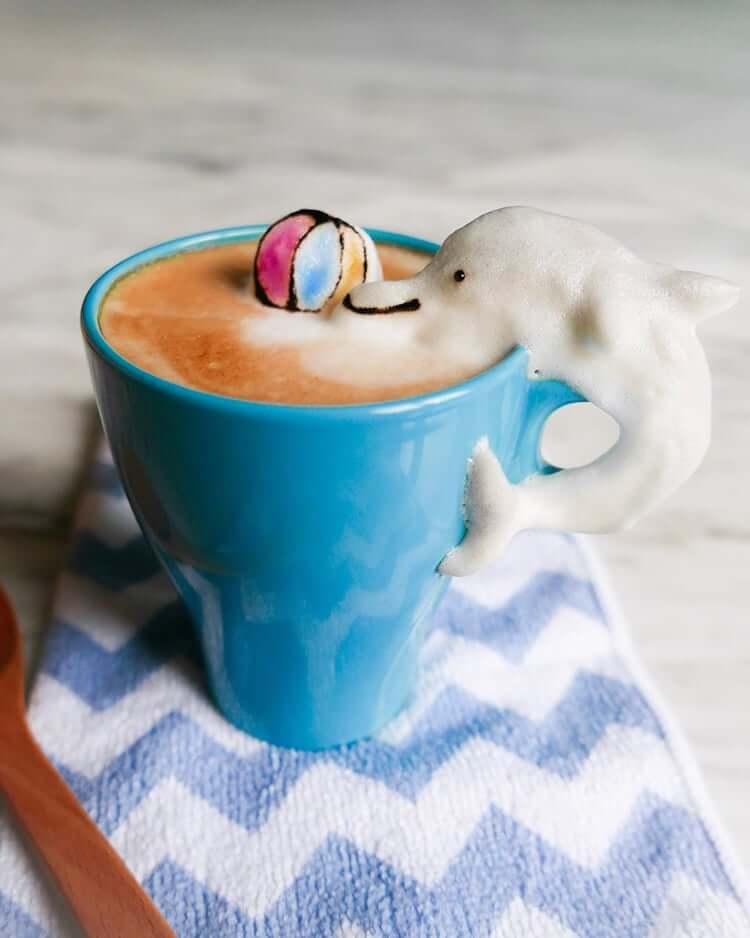 daphne tan 3d latte art freeyork 6