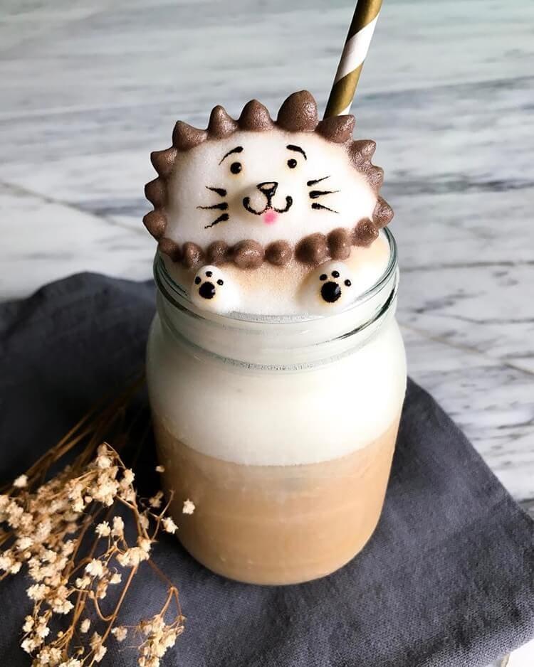 daphne tan 3d latte art freeyork 7