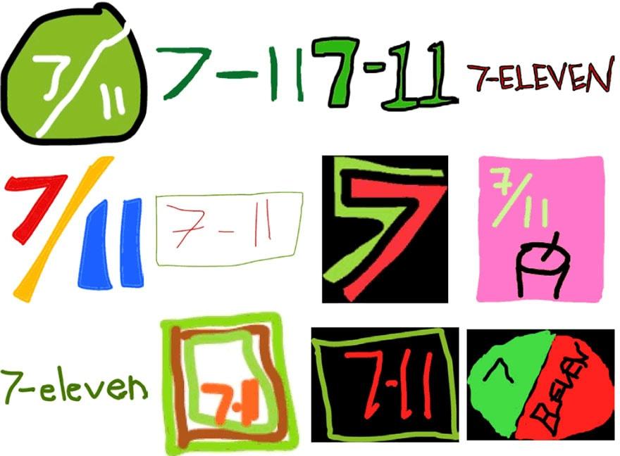 famous brand logos drawn from memory freeyork 52