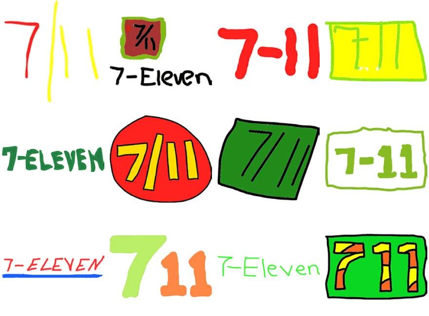 famous brand logos drawn from memory freeyork 54