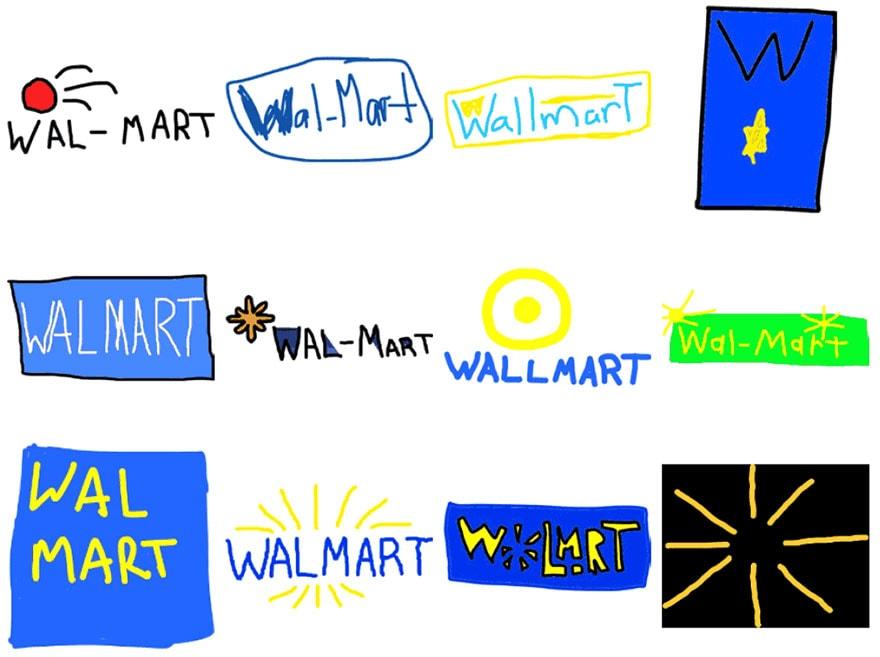 famous brand logos drawn from memory freeyork 57