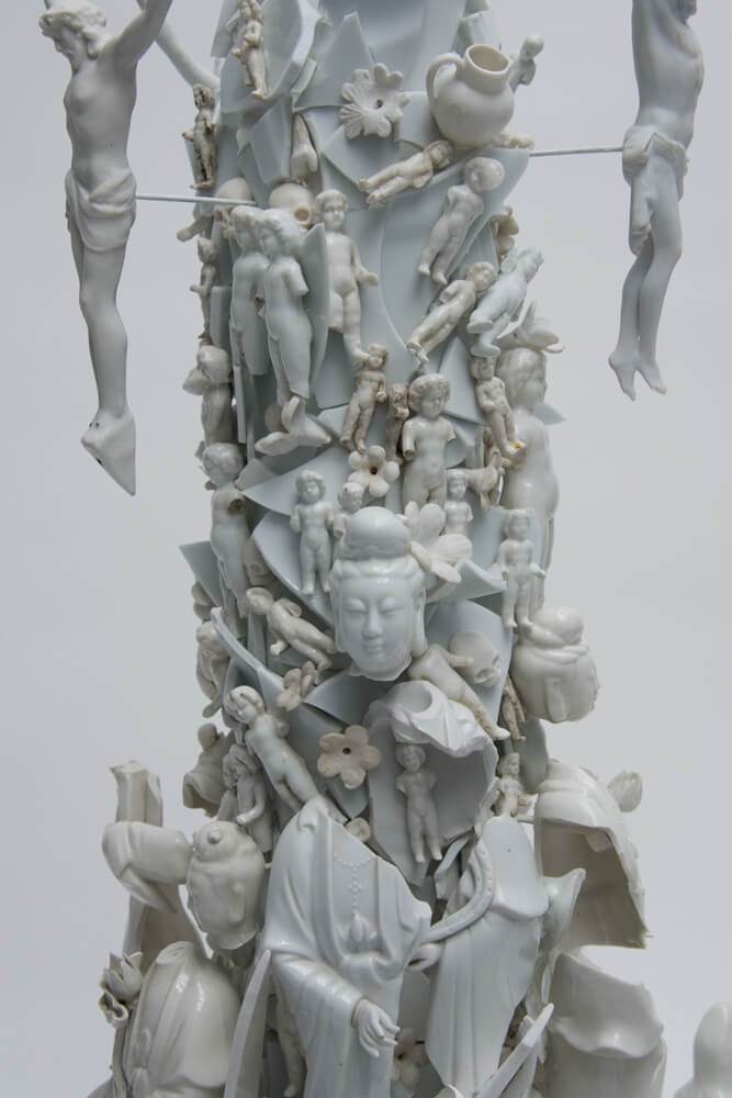 war pieces sculpture porcelain freeyork 1
