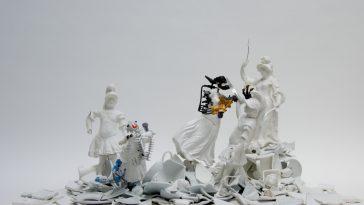 war pieces sculpture porcelain freeyork 2