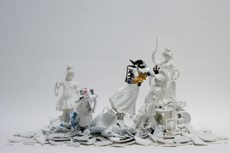 war pieces sculpture porcelain freeyork 2