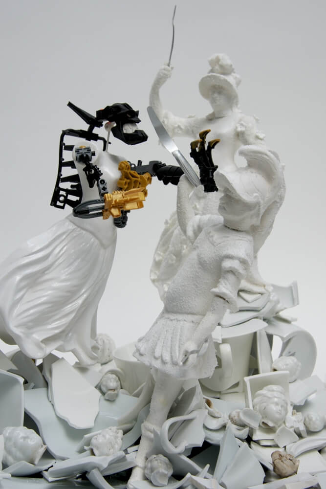 war pieces sculpture porcelain freeyork 3