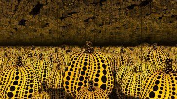 02 Yayoi Kusama Pumpkins