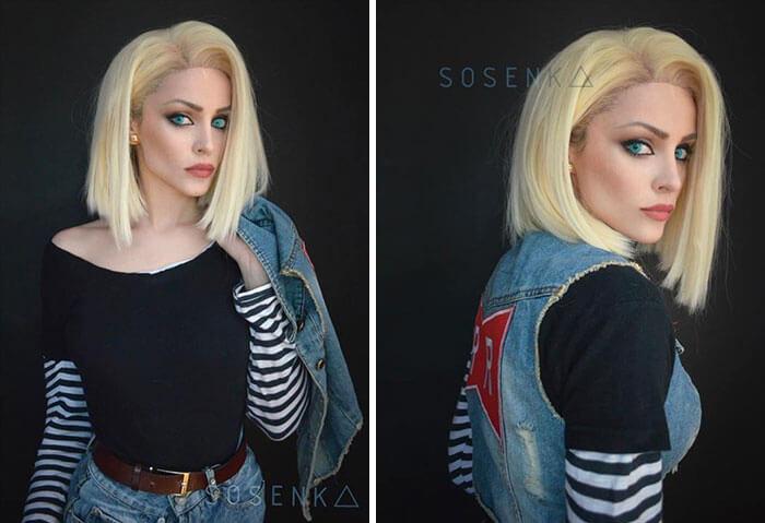 cosplay sfx makeup sosenka fy 10