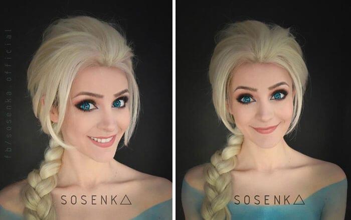 cosplay sfx makeup sosenka fy 12