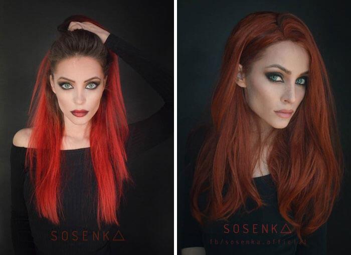 cosplay sfx makeup sosenka fy 13